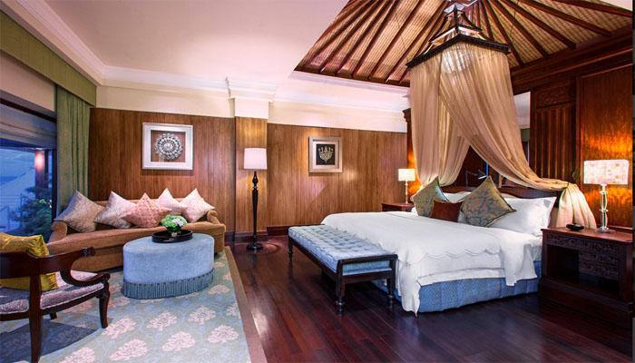 Klik pilihan hotel di mana Salman menginap